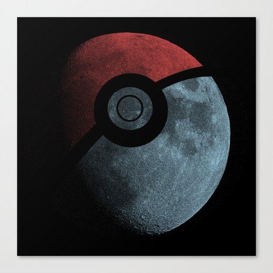 Poke Moon Canvas Print