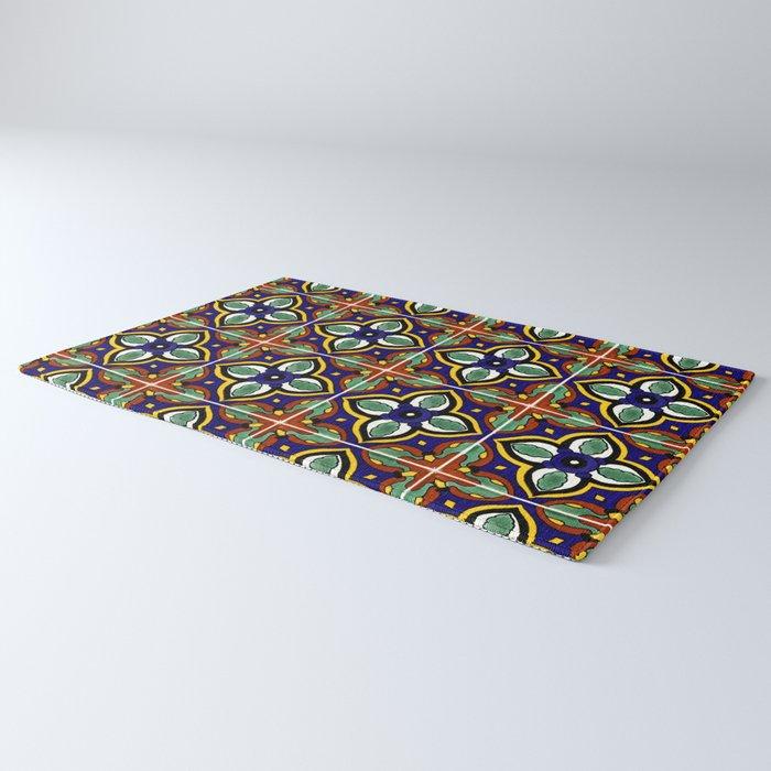 Talavera Mexican Tile Rug