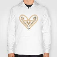 romance Hoodies featuring Romance by Jad Fair