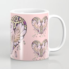 Lover Pigeons Coffee Mug