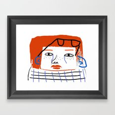 Fashion Women, fashion, fashion illustration, art, design, fun, pattern, people, Framed Art Print