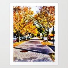 Brooklyn Autumn Art Print