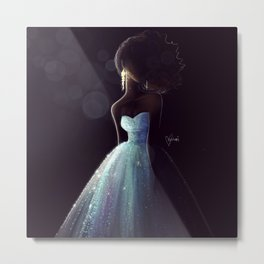 Black Beauty Metal Print