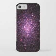 Pink Purple Stars iPhone 8 Slim Case
