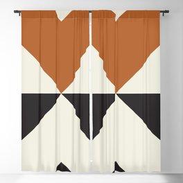 Split X Rust Blackout Curtain