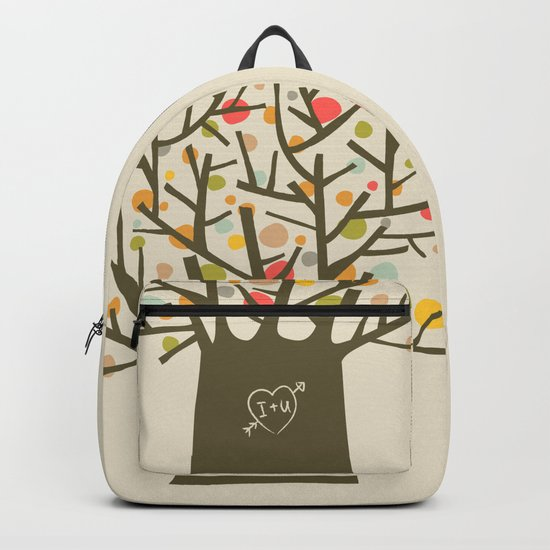 """The """"I love you"""" tree Backpack"""