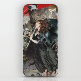 Modern Medusa iPhone Skin