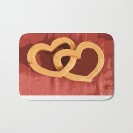 Entwined Hearts Bath Mat