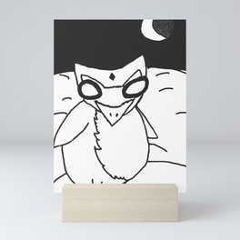 Not Really a Morning Person... Mini Art Print