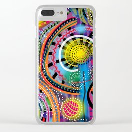 Biology of Lovers on a Rainy Night (Horizontal) Clear iPhone Case