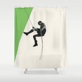 Descent II Shower Curtain