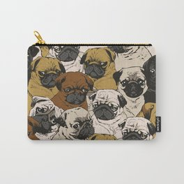 Social Pugs Carry-All Pouch