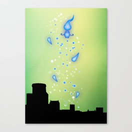 Pixar Brave Castle Print with Whisp Canvas Print