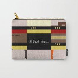 TNG - All Good Things - Minimalist Star Trek TNG The Next Generation 1701 D  startrek  Trektangles Carry-All Pouch