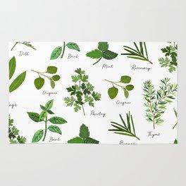 Culinary Herbs Rug