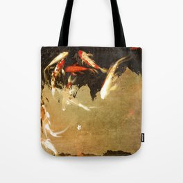 Thirteen Koi Fishes Tote Bag