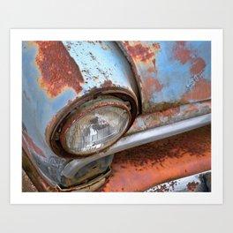 Rusted 16 Art Print