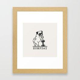 HUMPDAY Framed Art Print