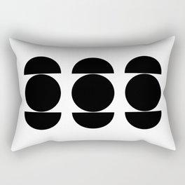 Mid-century shapes I Rectangular Pillow