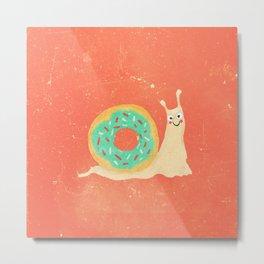Donut snail Metal Print