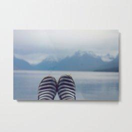 Glacial Feet Metal Print