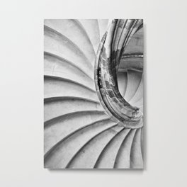 Sand stone spiral staircase 15 Metal Print