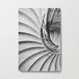 Sand stone spiral staircase 15 Metal Print