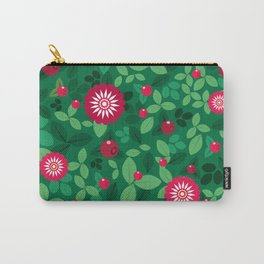Lingonberries Carry-All Pouch