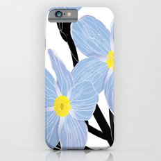 'I think of you Bernie' / Forget-me-not iPhone 6 Slim Case