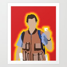 Bobby Boucher: Waterboy Art Print