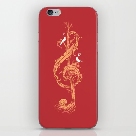 Natural Melody iPhone & iPod Skin