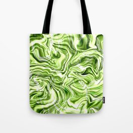 Green marble texture Tote Bag