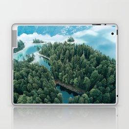 Mountain in a Lake - Landscape Photography Laptop & iPad Skin