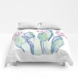 Cactus in Love Comforters