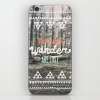 alice x zhang iPhone & iPod Skins featuring Wander by Wesley Bird