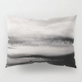 WHITE & BLACK TOUCHING #2 #abstract #decor #art #society6 Pillow Sham