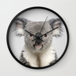 Koala 2 - Colorful Wall Clock