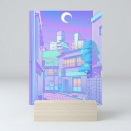 Night in Utopia Mini Art Print