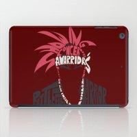 bleach iPad Cases featuring renji abarai bleach by Rebecca McGoran
