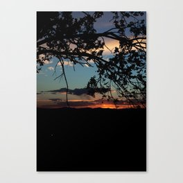 NM Sunset 6 Canvas Print