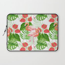 Flamingo garden Laptop Sleeve