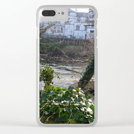 Fast Current On Early Spring Clear iPhone Case