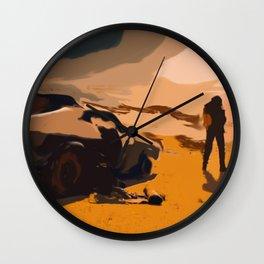 Mad Max Rockatansky 2 Wall Clock