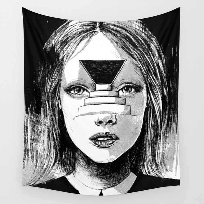 Beyond the Shadows Wall Tapestry