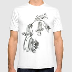 Spring MEDIUM Mens Fitted Tee White