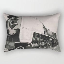 Old Locomotive steam train Rectangular Pillow