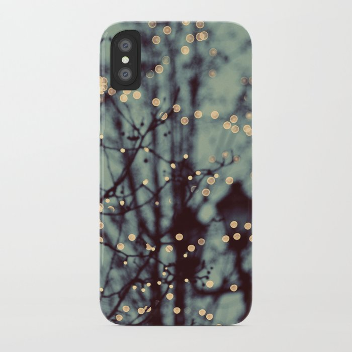 Winter Lights iPhone Case