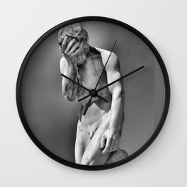 Face Palm Wall Clock