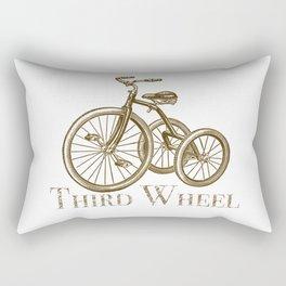 Third Wheel Rectangular Pillow
