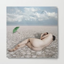 Lady of the Desert Metal Print